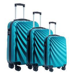 Seanshow Omni Hardside 3 Piece Nested Spinner Luggage Set