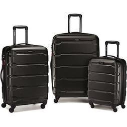 Samsonite Omni Hardside Luggage Nested Spinner Set  BLK 6831
