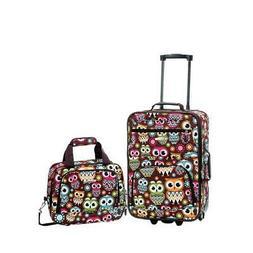 Rockland 2-pc. Owl Luggage Set