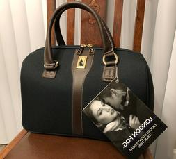 """London Fog Oxford II LW Collection 16"""" Satchel Tote - H. Gre"""