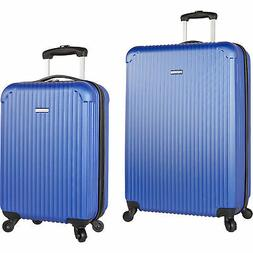 Travel Gear Pandora Navy 2 Piece Hardside Spinner Luggage Se