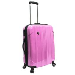 "25"" Pink Sedona Pure Polycarbonate Lightweight Spinner Lugga"