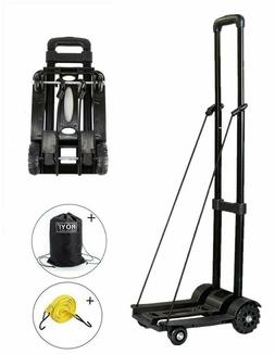 Portable Fold Up Dolly Compact and Lightweight for Luggage,