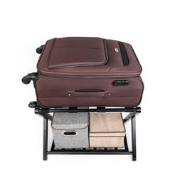 Portable Steel Folding Suitcase Stand Bench Travel Folding L
