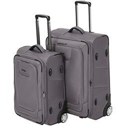 premium upright expandable softside suitcase with tsa