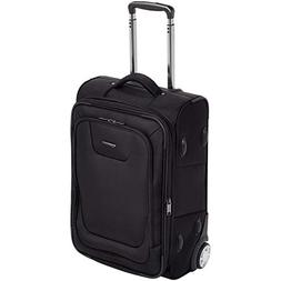 AmazonBasics Premium Upright Expandable Softside Suitcase wi
