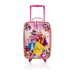 Disney Princess Trolley Soft Side 16 Inch Luggage Case for K