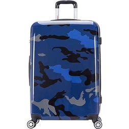 "inUSA Luggage Prints 28"" Lightweight Hardside Checked Spinne"