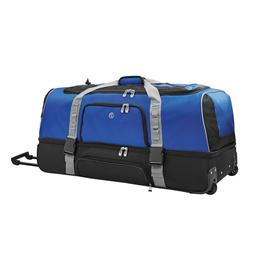 "Protégé 36"" DropBottom Rolling Duffel. Feature 2 easy glid"