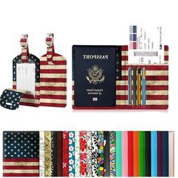 RFID Blocking Passport Holder Travel Wallet Case Cover & Lug