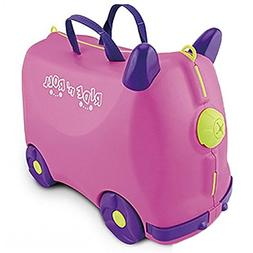 IQ Toys Ride N Roll Suitcase, Travel Luggage & Storage Bag P