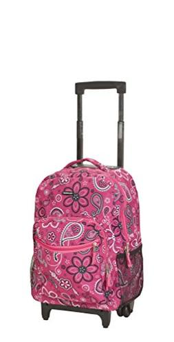 rockland 17 rolling backpack