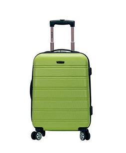 Rockland Luggage Melbourne Series Carry-On Upright - Lime