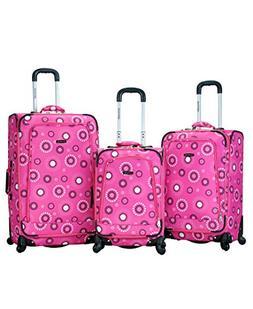 Rockland Polo Equipment Fusion 3 Piece Luggage Set