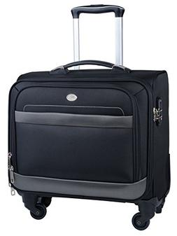 Rolling Laptop Bag, COOFIT Rolling Briefcase For Women Rolli