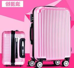 Rolling Luggage Bag  PC Shell TSA Lock Travel Trolley Case S
