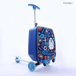 Scooter Suitcase Luggage cabin skateboard trolley child gift