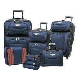 Traveler's Choice Travel Select Amsterdam 8 Piece Luggage Se