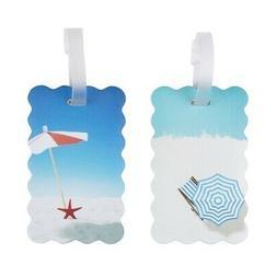 Travelon Set of 2 Luggage Tags Beach 13431-000