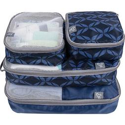 Travelon Set of 4 Soft Packing Organizers 3 Colors Travel Or