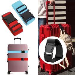 Short & Long Bag Bungee Luggage Straps Suitcase Adjustable B