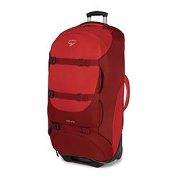 "Osprey Shuttle 36""/130 L Wheeled Luggage, Diablo Red, New"