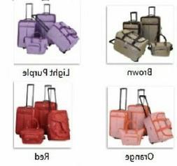 Signature 4 Piece Luggage Set Extra Capacity Luxury Wheels 4