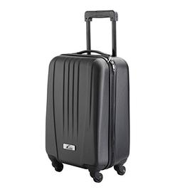 Cabin Max Silver ABS spinner 4 wheel hard case- Carry on 18