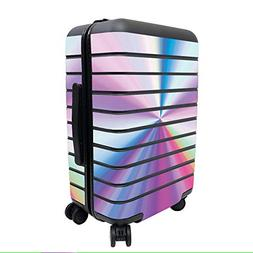 MightySkins Skin for Away The Carry-On Suitcase - Rainbow Zo