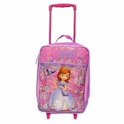 Disney Sofia Pilot Case Kids Soft Side Luggage for Girls 16
