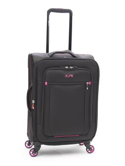"iFLY Softside Luggage Glamour 20"", Black/Pink"