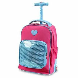 Sparkle Kids Rolling Backpack