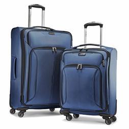 spherion 2 piece traveller spinner luggage set