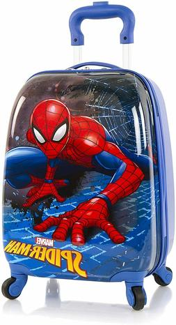 Marvel Spiderman Hardside Spinner Luggage for Kids - 18 Inch