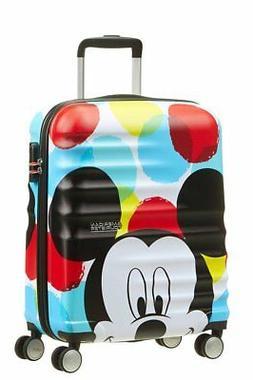 "Spinner 20"" AMERICAN TOURISTER Wavebreaker Disney Mickey Clo"