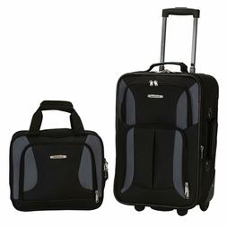 Spinner Luggage Carry On Set Travel Camping Expandable Small