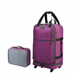 Spinner Suitcase Luggage Travel Gear Zipsak Micro Fold, 27-I