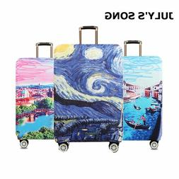Starry night Design Luggage Protective Covers Travel Suitcas