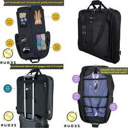ZEGUR Suit Carry On Garment Bag for Travel & Business Trips