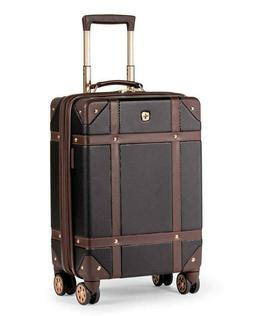 "Swiss Gear 7739 19"" Trunk Expandable Carry On Spinner Luggag"