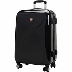 Wenger SwissGear Hardside Lightweight Luggage 24 Spinner Upr