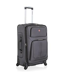 SwissGear SA6283 25-inch Expandable Spinner Suitcase Luggage