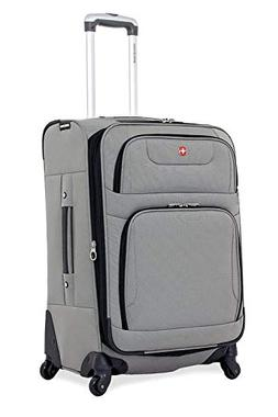 """Wenger SwissGear SA7297C 24"""" Spinner Expandable Upright Suit"""