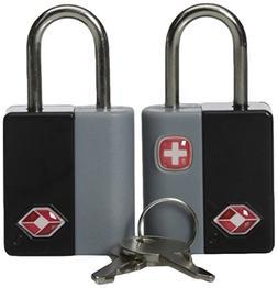 SwissGear TSA-Approved Travel Sentry Luggage Locks - Set of