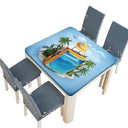table washable polyeste luggage suitcase