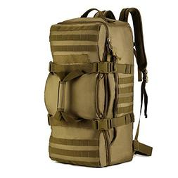 Tactical Multi-functional Travel Duffle Bag Camping Backpack
