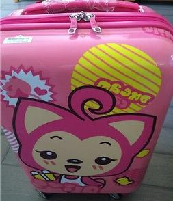 Taozi  20 Inch Upright Hard Side carry on for girls