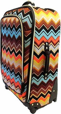 """Missoni For Target - 28"""" Suitcase with Accessories - Zig Zag"""
