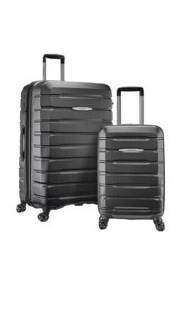Samsonite Tech 2.0 2-Piece Hardside Luggage Set, Gray