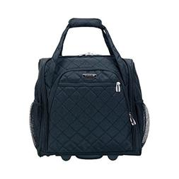 """The Black Rockland Unisex 15"""" Melrose Wheeled Underseat Carr"""